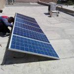 نمونه کار برق خورشیدی