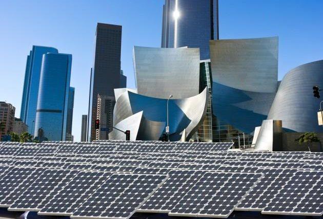 برق تحت شبکه انرژی خورشیدی