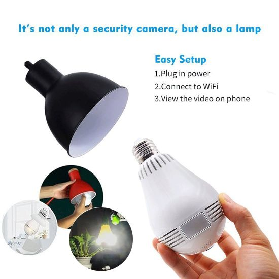 لامپ دوربین دار